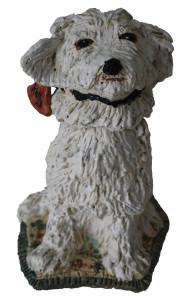 Urn Hond keramiek