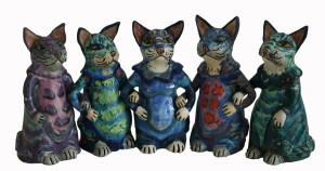 Opdracht Urn katten keramiek