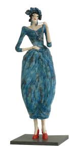 Vrouw keramiek