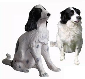 Hond keramiek