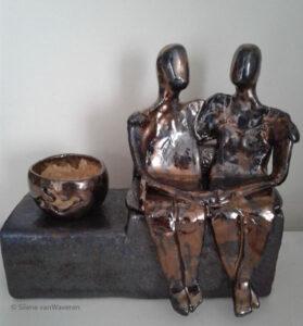 Urn echtpaar in opdracht